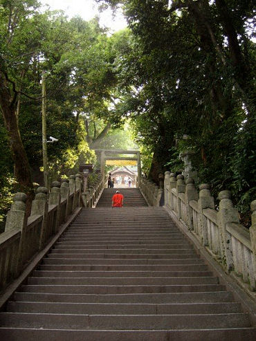 Konpirasan stairs