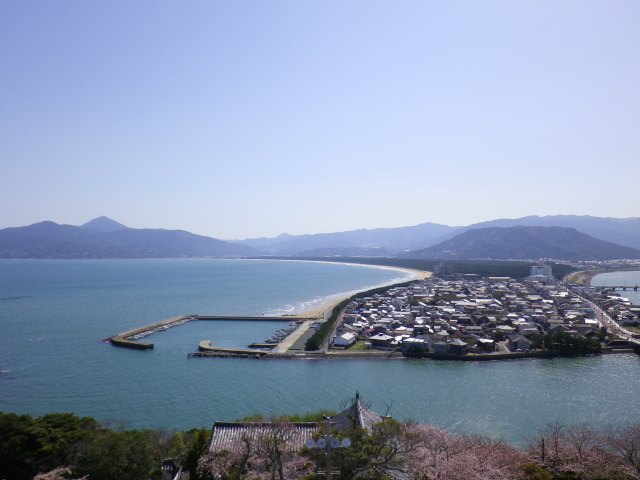 View from Karatsu Castle